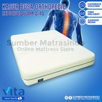 Kasur Busa Inoac Vita Rebonded Orthopedic D40 160 x 200 cm Tebal 20 cm