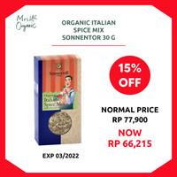 Organic Italian Spice Mix Sonnentor 30 g