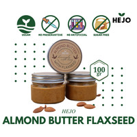 Hejo - Almond Butter with Flaxseed 100 gr Selai Kacang Almond Vegan