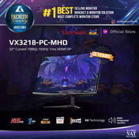 Monitor LED Viewsonic VX3218 PC MHD 32 Curved 1080p 165Hz 1ms HDMI DP