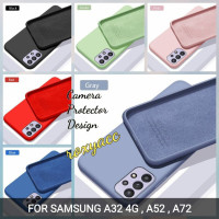 case Samsung a32 4G a52 a72 silicon bahan lentur softcase casing cover