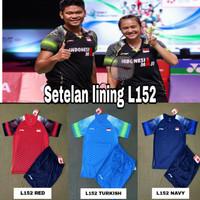 Setelan baju badminton/Kaos badminton Lining L152