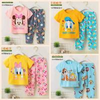 Baju tidur anak motif disney sz 55 60 65 (+/- 6bulan - 2 tahun)