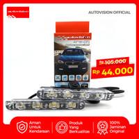 APEX CAR DRL ST006 8 x 5SMD Led light 12V 2W 6000K ADAFRCLW(