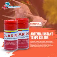 Artemia Polar Red 40 gr pakan burayak Repack Asli 40 gr Polared murah - 10GR