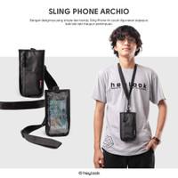 Case Cover Pelindung Handphone Anti Air Sling Bag Pouch Waterproof