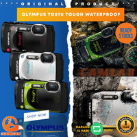 Olympus TG870 Tough Waterproof Digital Camera TG-870 - Unit Only