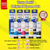 Epson 003 Black C13T00V199 Tinta Cartridge Printer L1110 L3110 L3150