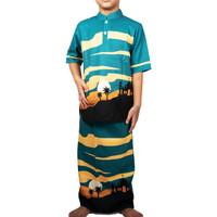 Baju Koko Anak Night Sahara - 7-8 tahun