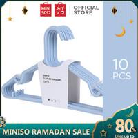 Miniso Official Gantungan baju 10 pcs Clothes Hanger /Gantungan Baju