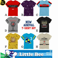 Kaos Baju Anak Branded Size Besar 8-14 Tahun | Kaos Anak Laki Lak