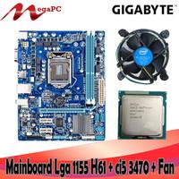 Mobo soket 1155 H61 DDR3 Asus/Gigabyte