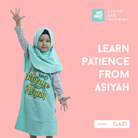 Ammar Kids Gamis & Jilbab Anak Muslimah Free Hijab & Pin Kaos Combed