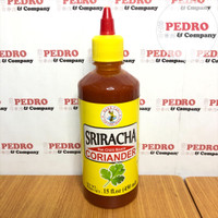 Nang fah sriracha coriander hot chili sauce 450 ml - saus sambal thai