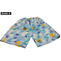 Celana Pendek 3/4 Celana Hawaii untuk Santai/Traveling/Surfing - Kode A