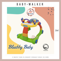 Babyelle Baby Walker Step 2-in-1 BE-0188 - Activity Baby Elle Dorong