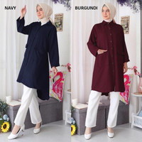 Kemeja Tunik Jumbo Baju Tunik Jumbo Murah Tunik Big Size S12076