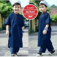 Parsel Ramadan Baju Koko anak Gamis Anak laki laki Satu Set Koko Anak