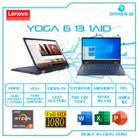Lenovo Yoga 6 Fabric 1AID | Ryzen 7 4700U 16GB 512SSD 13.3FHD W10