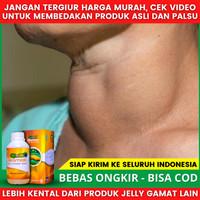 [TERBUKTI TESTIMONI] QNC Jelly Gamat Obat Kanker Tiroid & Hipertiroid