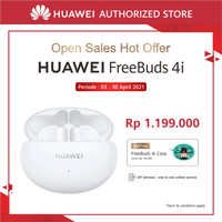 Huawei FreeBuds 4i   ANC   10 Hours Battery Life   Fast Charging