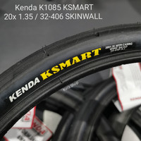 Ban Luar Sepeda Kenda KSMART K1085 20x1.35 / 32-406 Lipat BMX