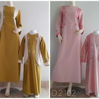 Baju Gamis Wanita - Gamis Couple DNT AD44