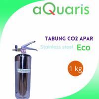 tabung co2 aquascape full set 1 lt (valve ekonomis)