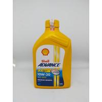 Oli Motor Shell Advance AX5 Scooter MATIC 10W-30 (0.8L)