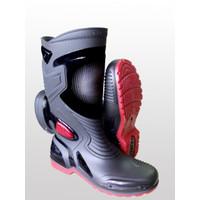 Sepatu Boots karet merk AP (art moto 3) / ap boot moto 3