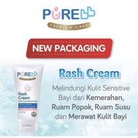 PURE BABY RASH CREAM With Extra Moisturizing 50 gr RUAM POPOK / Diaper