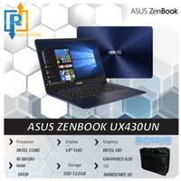 ASUS ZENBOOK UX430UN - i7 8550U/ 16GB/ 512GB/ MX150/ W10/ 14IPS FHD