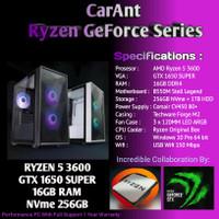 PC GAMING   Ryzen 5 3600   GTX 1650 SUPER   16GB RAM   NVme 256GB