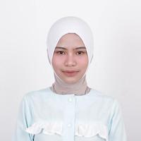 Zoya Inner Kerudung Ciput Hijab - Ciput Telinga Naya White Limited