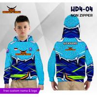 Jersey hoodie anak merpati tinggi balap baju kaos burung dara panjang - 0