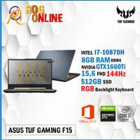 Asus TUF FX506LU i7 10870 8GB 512ssd GTX1660Ti 4GB W10+OHS 15.6 FHD