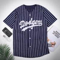 Jersey baseball - Baju baseball - kaos baseball Dodgers murah
