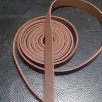 Tali Suede Kulit Asli / tali Beludru Bahan Gelang Kalung Lebar 1 cm