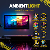 LED Ambient Light RGB for PC Monitor TV Auto Sync