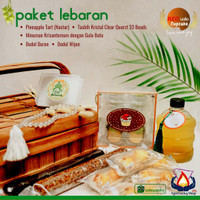 Parsel Ramadan Berkah Hampers Dodol Nastar Tasbih Pineapple Tart