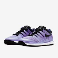 Sepatu Tenis Tennis Nike Air Zoom VPR Purple Black White Junior ORI