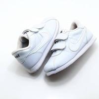 Sepatu Anak Nike Cortez Putih Polos