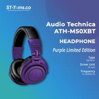 Audio Technica ATH-M50XBT / M50X BT Wireless Over-Ear Headphone Purple