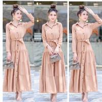READY STOK Gamis Fashion Muslim/Gamis Muslim Susun 1358#/Long Dress
