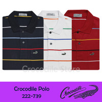 Kaos Kerah Polo Slim Fit Pria Crocodile 222-739
