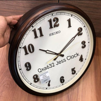 Qxa632 Jam dinding Seiko Sweeep.