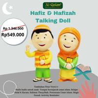 Hafiz Hafizah Talking Doll Versi 4 Boneka Pintar Al Qolam Garansi 1 Th - hafizah
