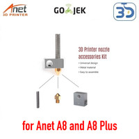 Original Anet A8 and A8 Plus Hotend Heatblock Hotblock MK8 Replacement