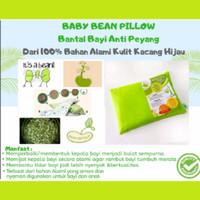 Bantal Bayi Anti Peyang BabyBean dari Kulit Kacang Hijau
