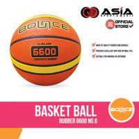 Basketball Bounce Rubber 6600 (NO.6) I Bola Basket Karet